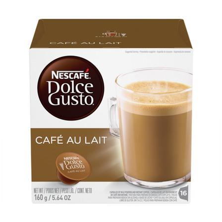 Cápsulas de café au lait Nescafé Dolce Gusto 16u