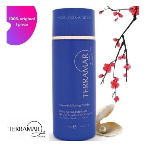 Polvo Microexfoliante De Arroz Terramar 100% Original