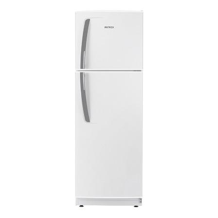 Heladera Patrick HPK135M00B01 blanca con freezer 264L 220V