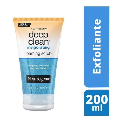 Exfoliante Facial Energizante Neutrogena Deep Clean 124 Ml