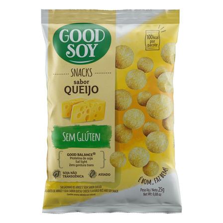 Snack Queijo sem Glúten Good Soy Pacote 25g