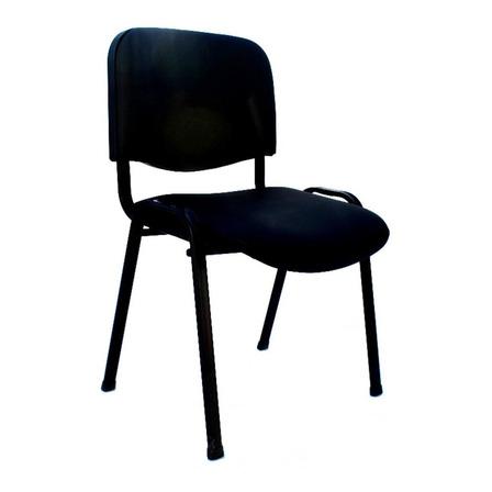Silla de escritorio JMI Fija Tapizada  negra