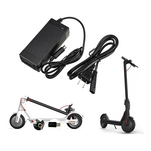 Cargador Para Scooter Eléctrico 42v 2a Xiaomi Ninebot