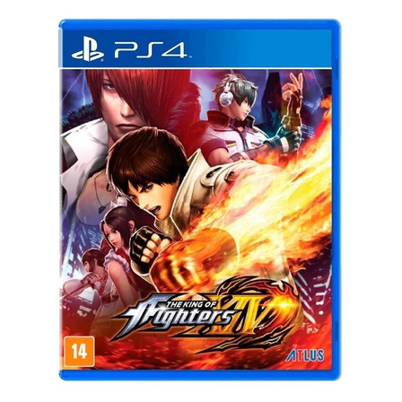 The King of Fighters XIV Standard Edition Físico PS4 Atlus