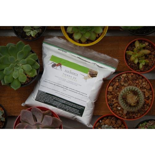 Tierra Diatomeas Insecticida Caracolicida + Jabón Potásico