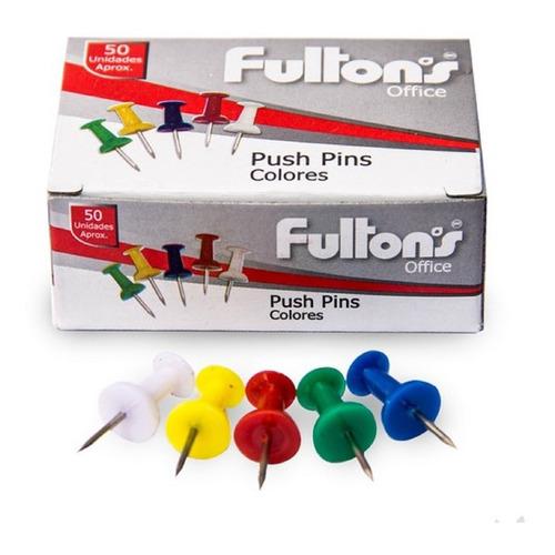 Push Pins Pinchos 150 Unidades Colores Surtidos