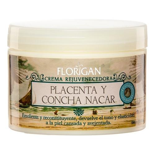 Crema Rejuvenecedora Placenta Y Concha Nácar 350grs.