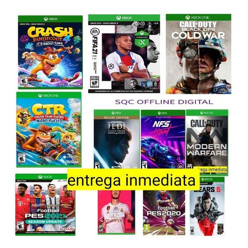 Elige 4 Juegos De Nuestro Catalogo Xbox One Offlin