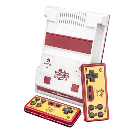 Consola Retro Game Classic 8GB blanca y roja