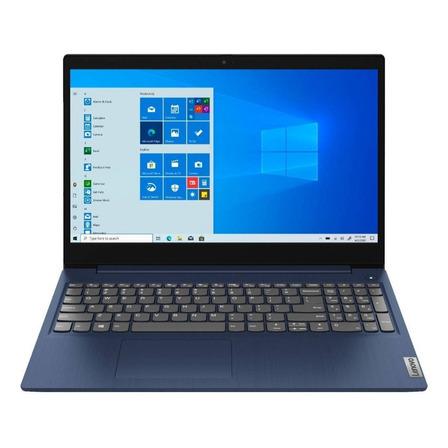 "Notebook Lenovo IdeaPad 15IML05  abyss blue táctil 15.6"", Intel Core i3 10110U  8GB de RAM 256GB SSD, Intel UHD Graphics 620 1366x768px Windows 10 Home"