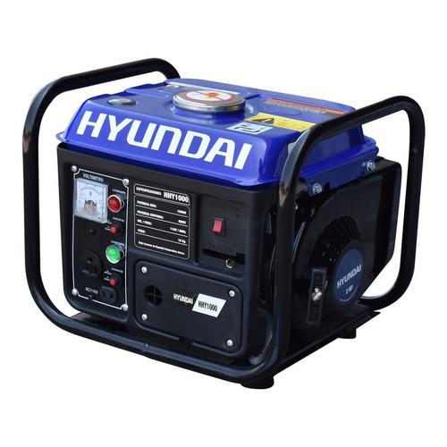 Generador portátil Hyundai HHY1000 1000W monofásico 110V