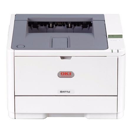 Impresora OKI B411D 220V - 240V beige