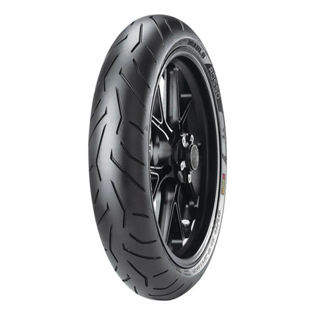 Cubierta delantera para moto Pirelli Supersport Diablo Rosso II para uso sin cámara 120/70 ZR17 W 58
