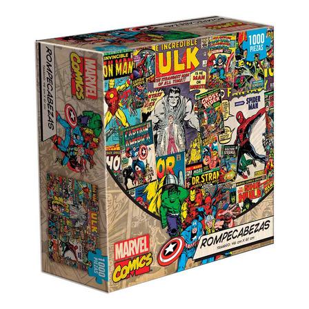 Rompecabezas Novelty Corp Marvel Comics de 1000 piezas
