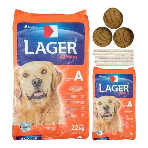 Alimento Perro Adulto Lager Premium 25 Kg + Regalo + Envío