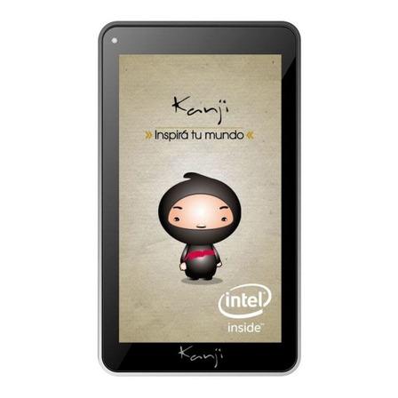 """Tablet  Kanji Yubi 7"""" 16GB negra con memoria RAM 1GB"""