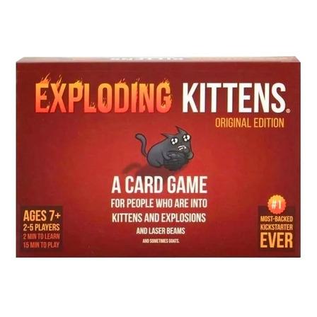 Juego de cartas Exploding Kittens Original