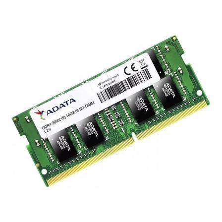 Memória RAM Premier Series color Verde  16GB 1x16GB Adata AD4S2666316G19-S