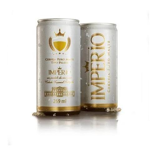 Cerveja Pilsen 269ml Pack 12 Latas Imperio