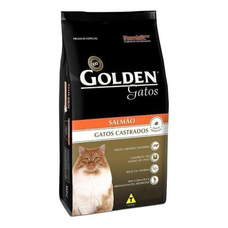 Alimento Golden Premium Especial Castrados para gato adulto sabor salmão em saco de 6kg