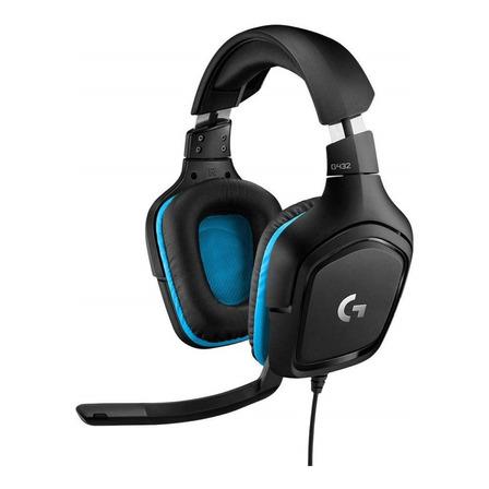 Auriculares gamer Logitech G Series G432 black