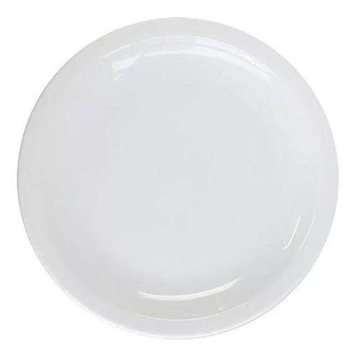 12 Plato Playo 25 Cm Germer Porcelana Brasil Gastronomico