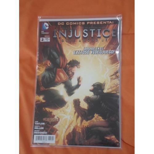 Dc Comics Injustice Año Uno Español Latino