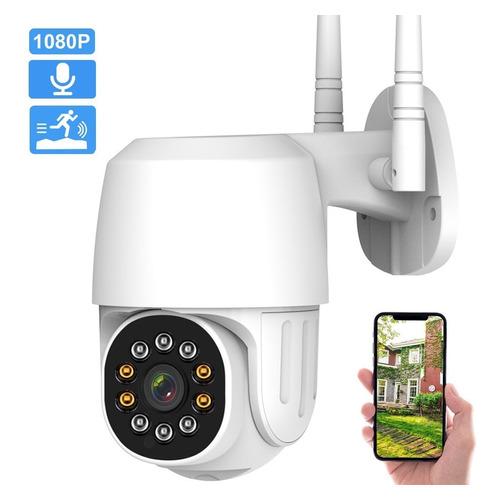 2nlf Cámara De Seguridad  Wifi Hd 1080p C/con Alarmaa Ip