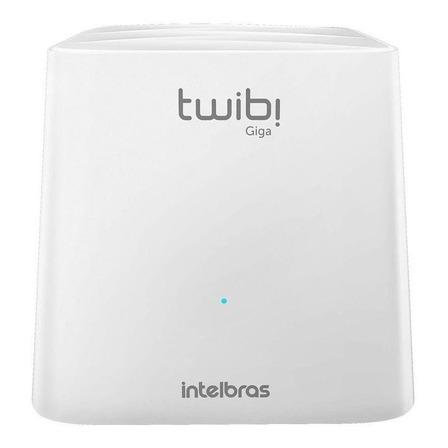 Roteador, Sistema Wi-Fi mesh Intelbras Twibi Giga branco 100V/240V