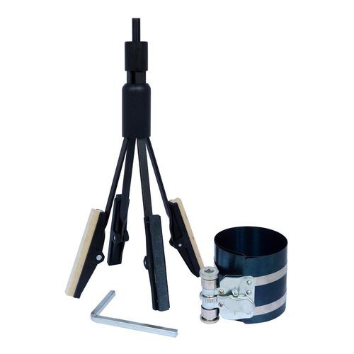 Kit Tendo Cinta De Anéis 6'' 53 A 195mm + Brunidor Cilindro