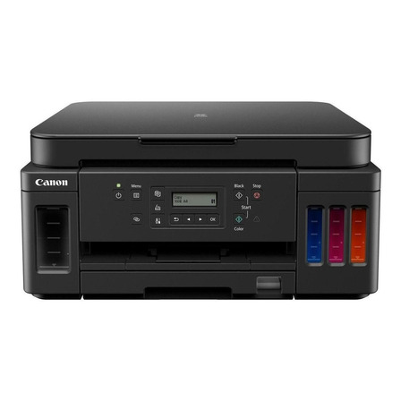 Impressora a cor multifuncional Canon Pixma G6010 com wifi preta 100V/240V