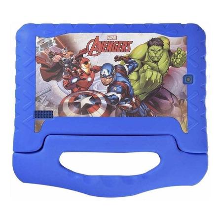 """Tablet Multilaser Disney Vingadores Plus 7"""" 16GB azul com memória RAM 1GB"""
