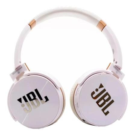 Fone de ouvido sem fio JBL Everest JB950 branco