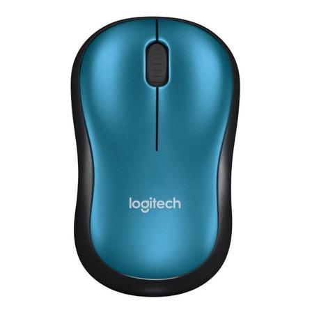 Mouse inalámbrico Logitech  M185 azul
