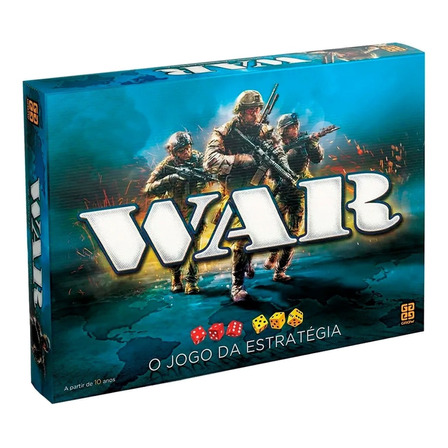 Jogo de mesa War Grow