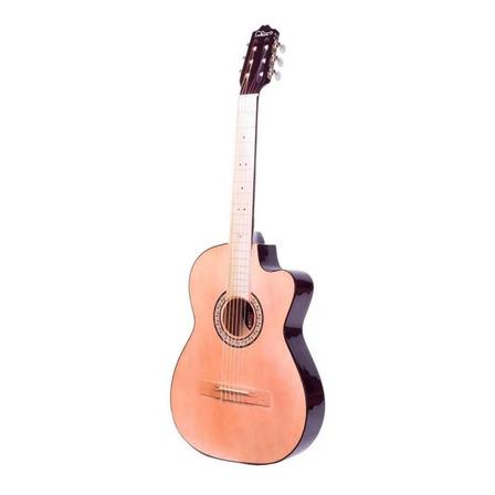 Guitarra clásica La Purepecha GCV café chocolate