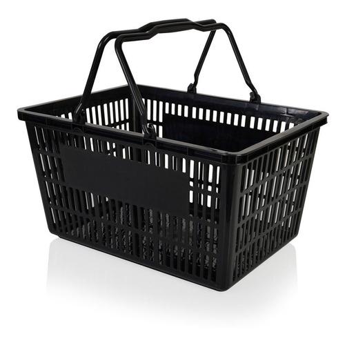 Canasto (o Cesto) Plástico Para Supermercado O Autoservicio