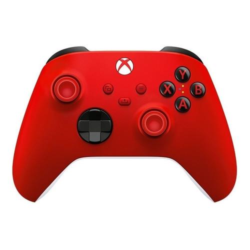Joystick inalámbrico Microsoft Xbox Wireless Controller Series X|S pulse red