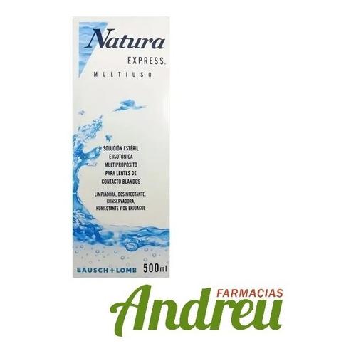Natura Express Liquido Para Lentes De Contacto X 500ml
