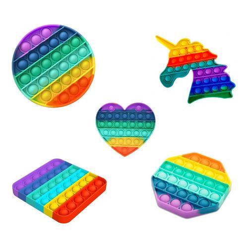 Pop It Multicolor Juguete Sensorial Snti Estrés Diseños