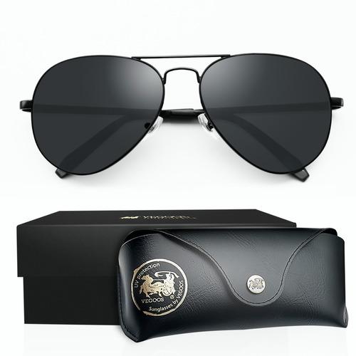 Lentes De Sol Polarizados Aviador Gafas Para Caballero Dama