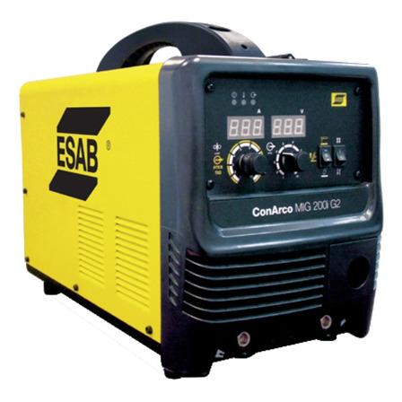 Soldadora inverter ESAB MIG 200I G2 50Hz/60Hz 220V - 240V