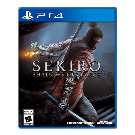 Sekiro: Shadows Die Twice Standard Edition Activision PS4  Físico