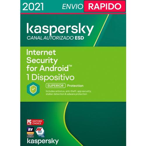 Kaspersky Internet Security 1 Android I Celular Tablet