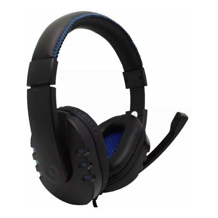 Fone de ouvido gamer Feir FR-215 preto e azul