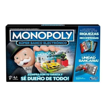 Juego de mesa Monopoly Super Electronic Banking Hasbro