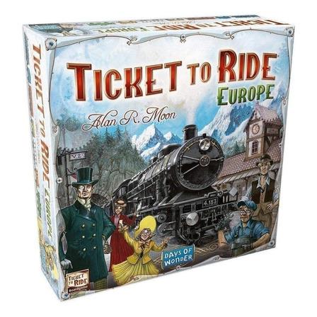 Juego de mesa Ticket to Ride Europe Days of Wonder