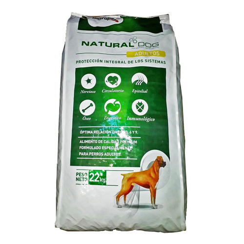 Alimento Nutrapet Natural Dog Premium para perro adulto en bolsa de 22kg