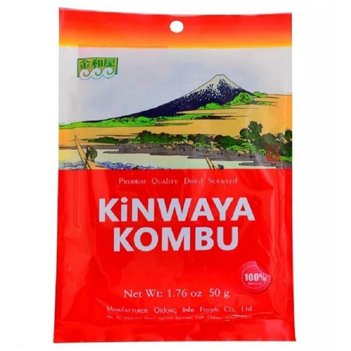 Algas Kombu Kinwaya X 50 Gr.