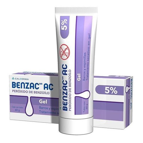 Benzac Ac Gel 5% 60gr Gel Galderma